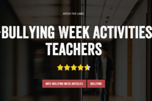 Anti-Bullying Week Activities and Lesson Plans for Teachers - Ditch
