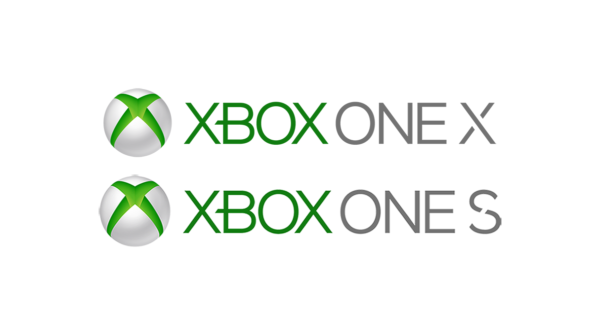 xbox one x and xbox one s logo
